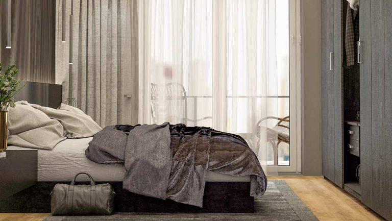 Dormitor Living Apartamente Herastrau Parkview