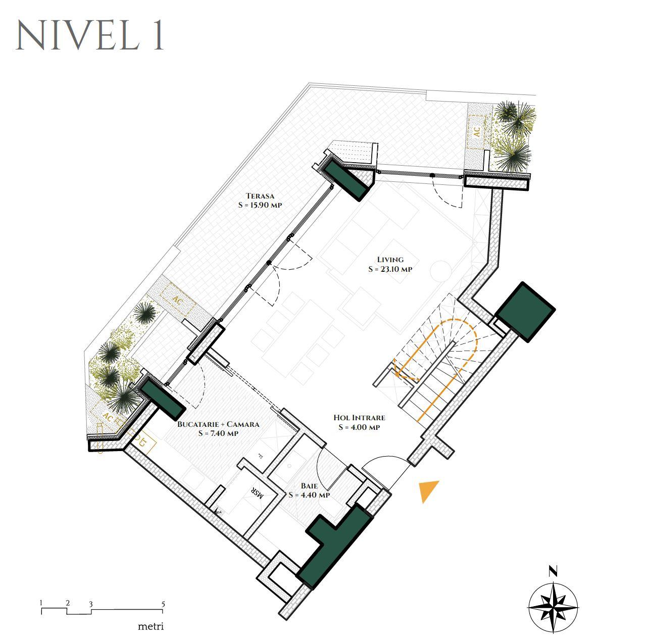 Duplex 3D4 Nivel 1