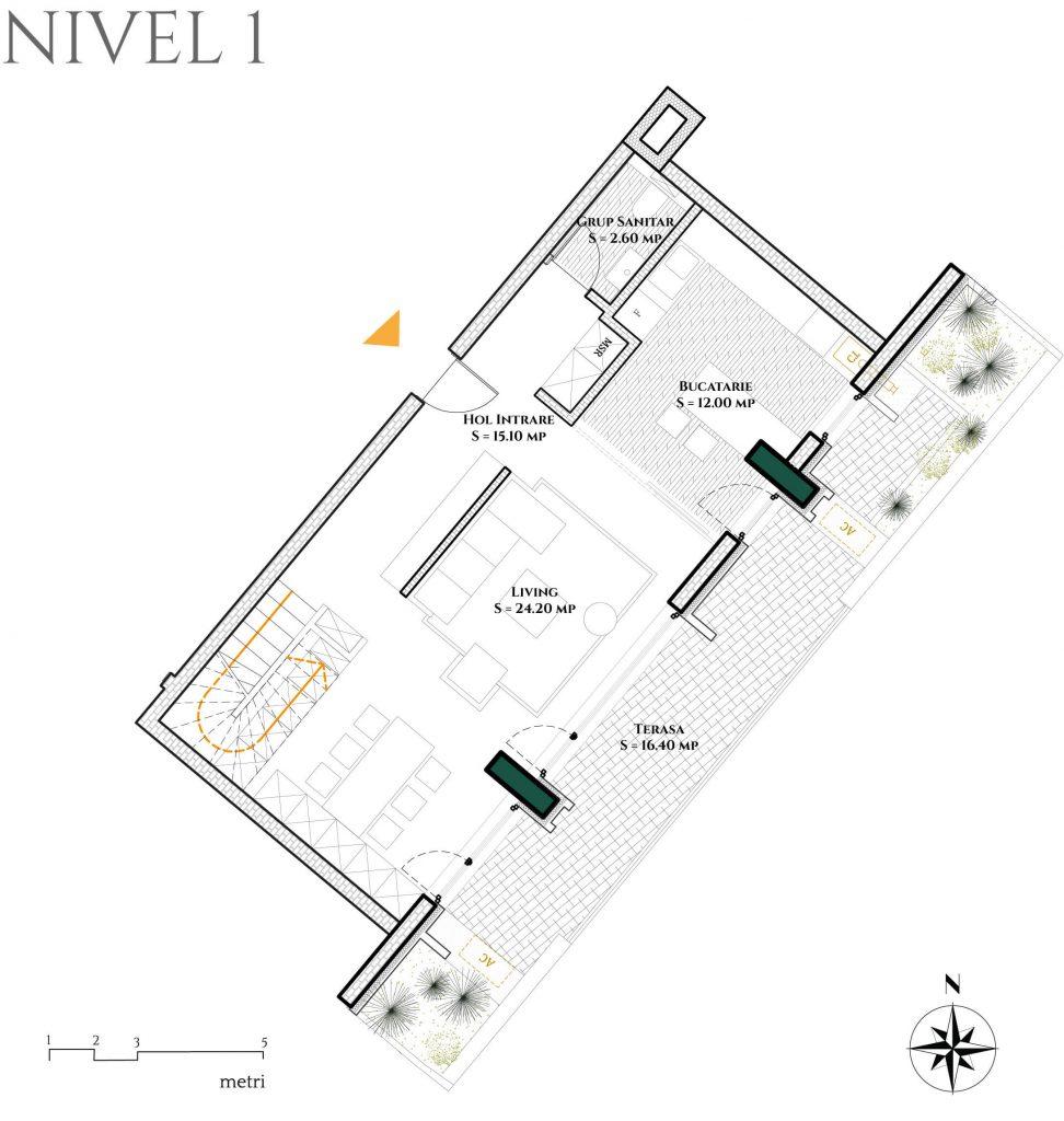 Duplex 4D6 plan parter