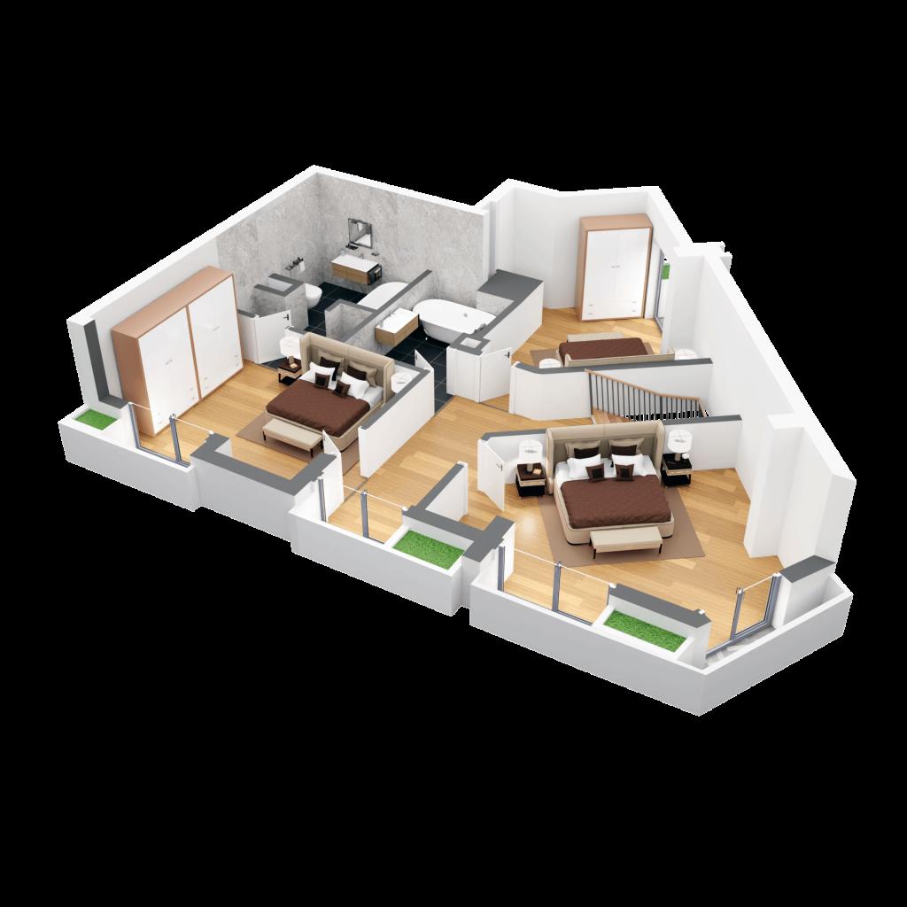 Duplex 5D5 nivel 2